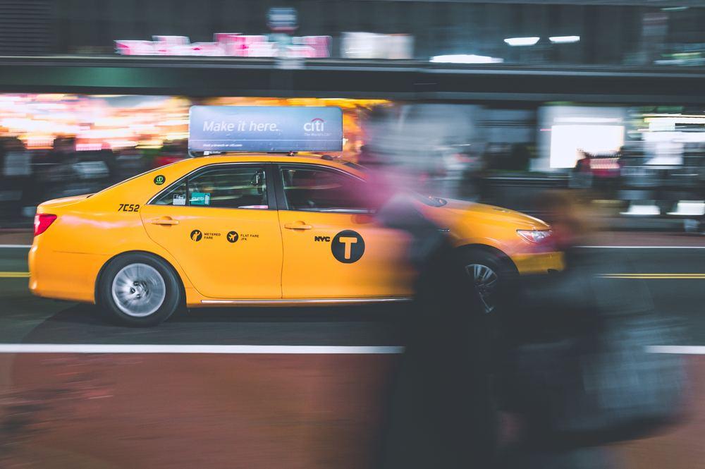 En taxareklame er et godt sted at annoncere